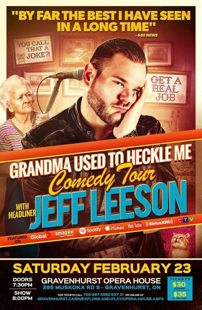 Jeff Leeson Comedy Show