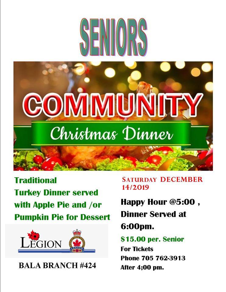 Seniors Christmas Dinner